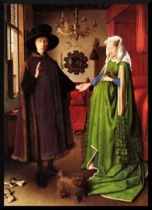 Retrato de Giovanni Arnolfini y esposa (1434) Jan van Eyck