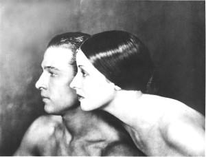 Rodolfo Valentino y Alla Nazimova
