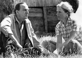 Ingmar Bergman y Liv Ullman